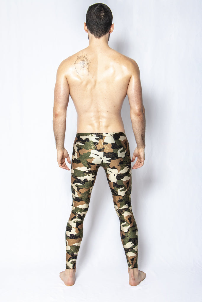 Glitter Camo - Men's Leggings