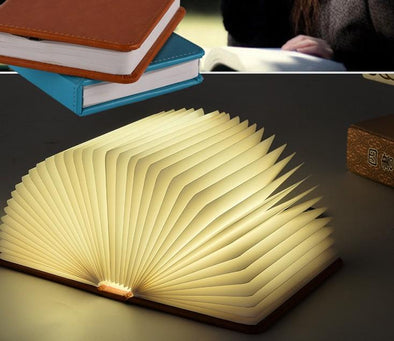 LED book light with USB interface