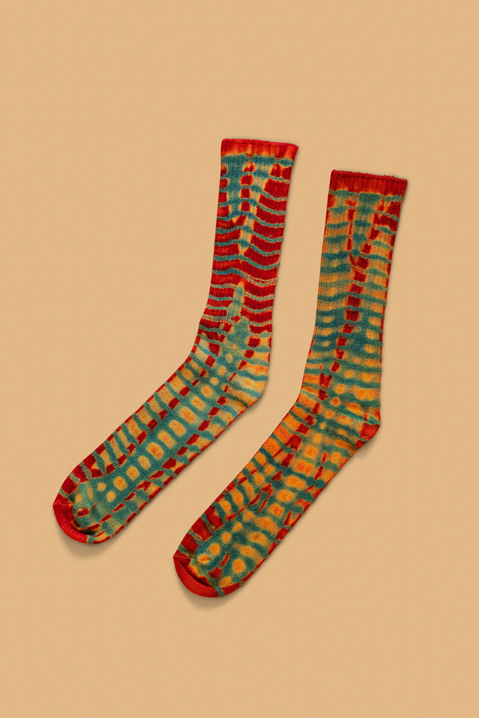 """Cool Running"" Batik Socks"