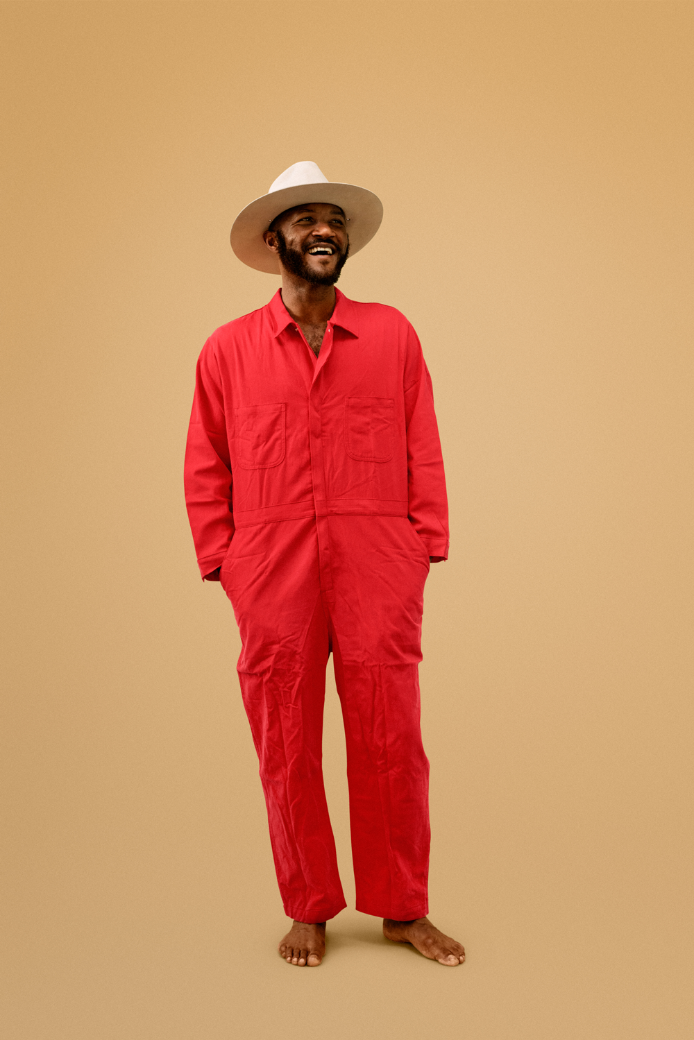 """Rajneeshee Red"" Jumpsuit"