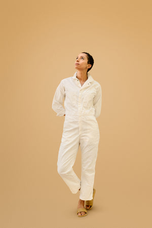 """Spilled Milk"" Jumpsuit"