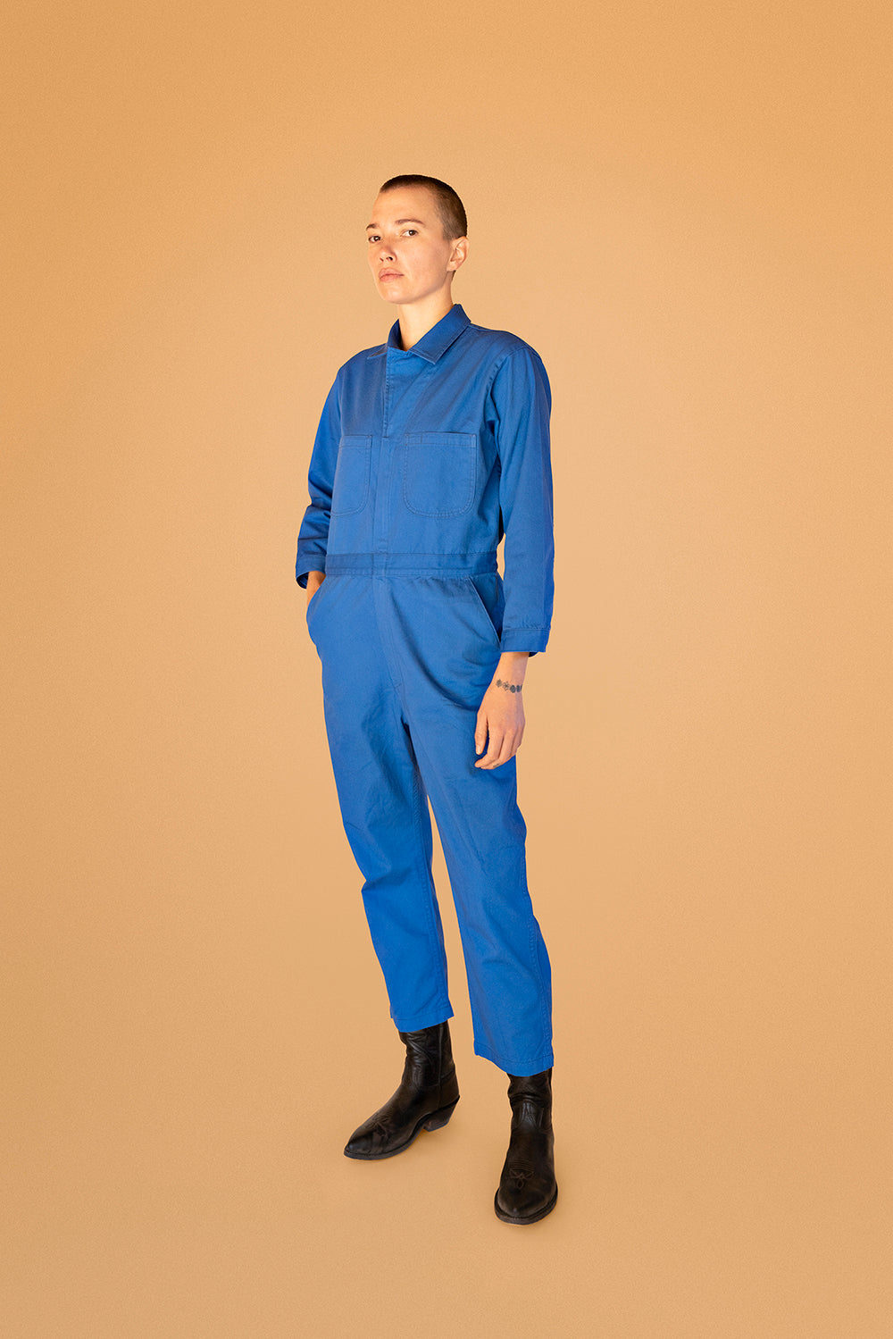 """Big Island Blue"" Jumpsuit"