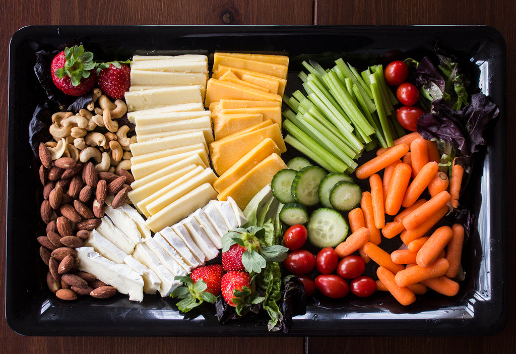 DIY Cheese and Veggie Party Platter