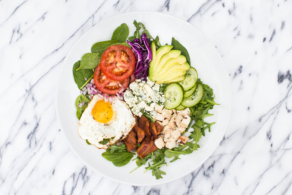Chicken Cobb Power Salad