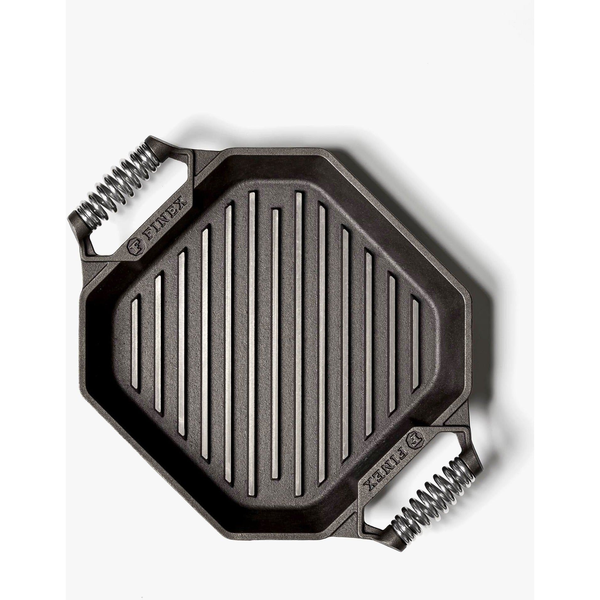 "FINEX 12"" Cast Iron Grill Pan"