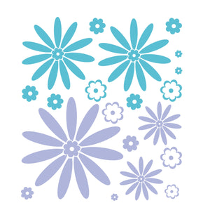 Daisy Decal | Teen Girl Room Decal | Nursery Decals | Daisy Decor | Flower Daisy | Flower Decal Sticker | Wall Decal