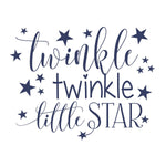 Twinkle Twinkle Little Star Nursery Decor Wall Decals