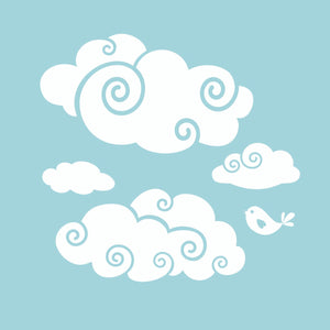 More Whimsy Clouds for the Wall | Wall Decal Package for Nursery