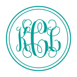 Vine Monogram Wall Decal | Monogram for Girls | Dorm Decor