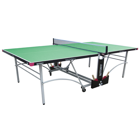 Butterfly Spirit 12 Rollaway Outdoor Table Tennis Table