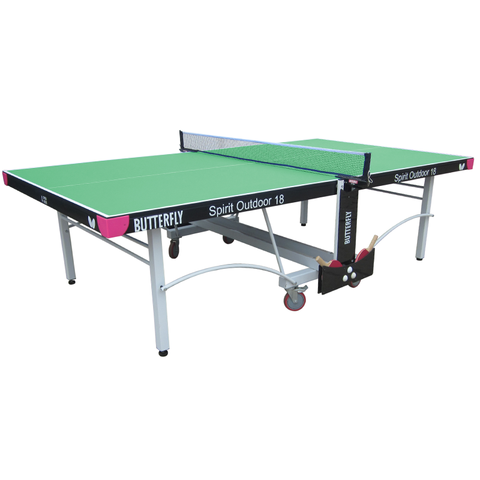 Butterfly Spirit 18 Rollaway Outdoor Table Tennis Table