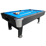 BCE Black Cat American Pool Table 7ft Blue Cloth