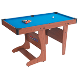 BCE Clifton Folding Pool Table 6ft Vertical with Table Tennis