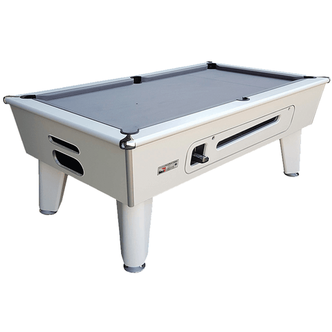 Optima Pool Classic Pool Table 6ft, 7ft Coin-Operated Slate
