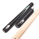 "BCE CL ""Victory"" Replica 4/5 English Pool Cue 8.5mm Tip 145cm Black/Blue"