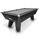 Cry Wolf Slate Bed Pool Table 6ft, 7ft Black