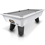 Cry Wolf Slate Bed Pool Table 6ft, 7ft White