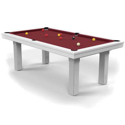 Billard Toulet Club English Pool Table 7ft Slate