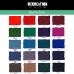 SAM Leisure Hainsworth Elite Pro Cloth Colours