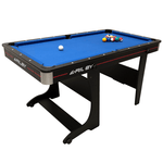 Riley Vertical Folding Pool Table 5ft with Table Tennis Top