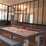 Billard Toulet Loft English Pool Table 7ft Slate