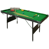Mightymast Crucible 2 in 1 Folding Snooker and Pool Table 6ft