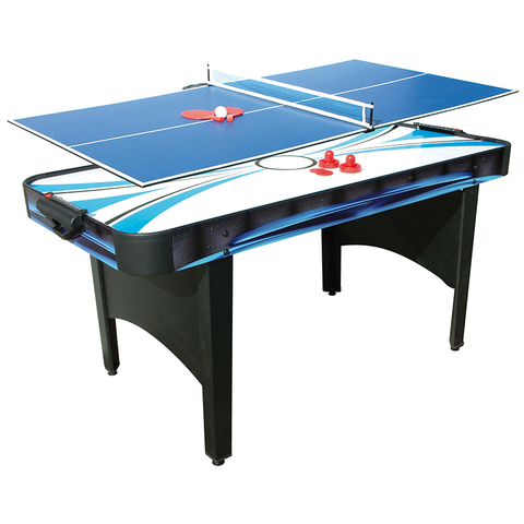 Mightymast Typhoon 2 in 1 Multi Games Table 6ft