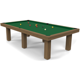 Billard Toulet Outdoor Teck Snooker Table 12ft Slate