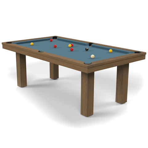 Billard Toulet Outdoor Teck English Pool Table 6ft Slate