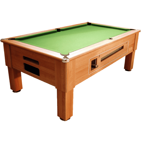 Optima Pool Prime Pool Table 6ft, 7ft Coin-Operated Slate