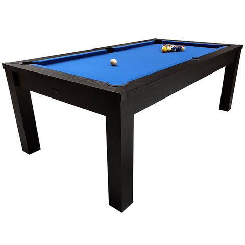 Riley Semi Pro American Pool Table 7ft Black Ash