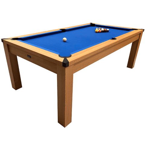 Riley Semi Pro American Pool Table 7ft Oak