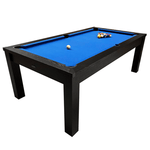 Riley Challenger Slate American Pool Table 7ft Black Ash