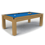 Riley Challenger Slate American Pool Table 7ft Oak