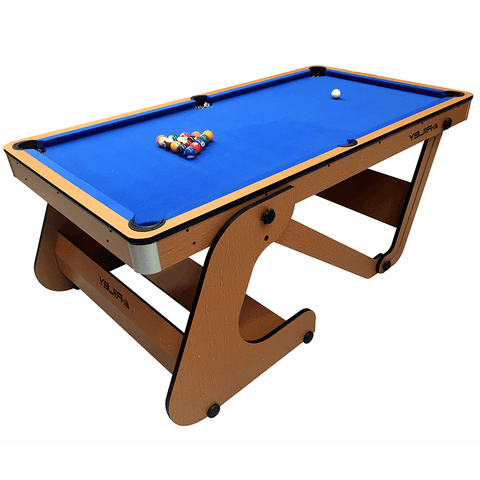 Riley Vertical Folding Pool Table 6ft