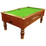 Optima Pool Richmond Pool Table 6ft, 7ft Coin-Operated Slate