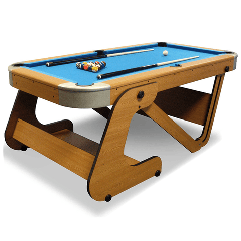 Riley Supersize Vertical Folding Pool Table 6ft 6inch