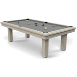 Billard Toulet Roundy American Pool Table 7ft Slate