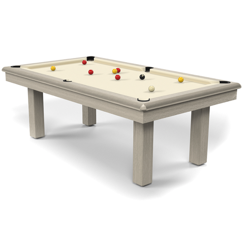 Billard Toulet Roundy English Pool Table 7ft Slate