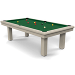 Billard Toulet Roundy Snooker Table 3/4 Slate