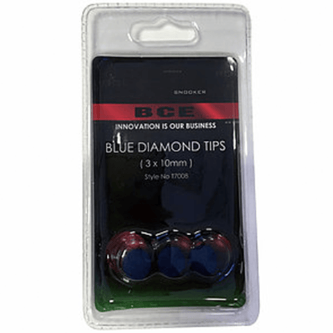 BCE Blue Diamond 10mm Tip 3 Pack