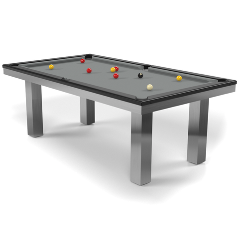 Billard Toulet Full Loft English Pool Table 7ft Slate