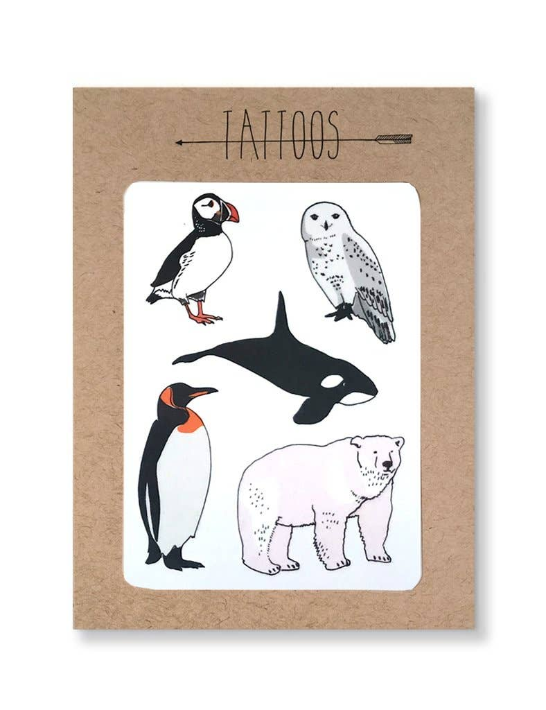 Hartland Brooklyn - Tattoo / Arctic Temporary Tattoos Pack - Two Little Birds Boutique