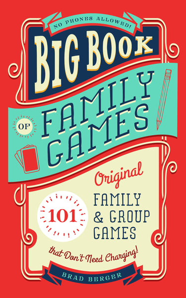 Familius, LLC - Big Book of Family Games - Two Little Birds Boutique