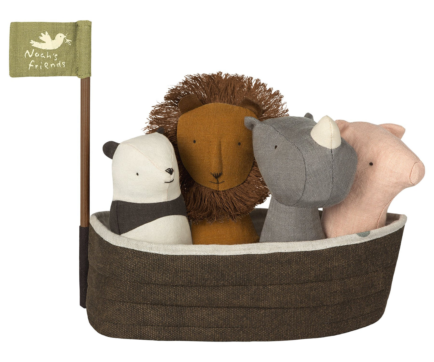 Maileg - Noah's Ark With 4 Rattles - Two Little Birds Boutique