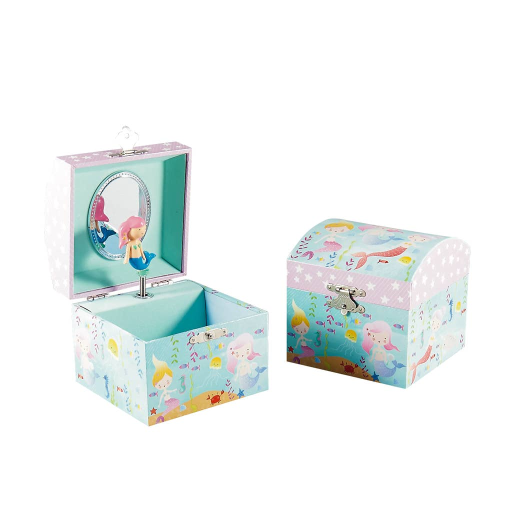 Floss and Rock - Mermaid Small jewelry Box - Two Little Birds Boutique