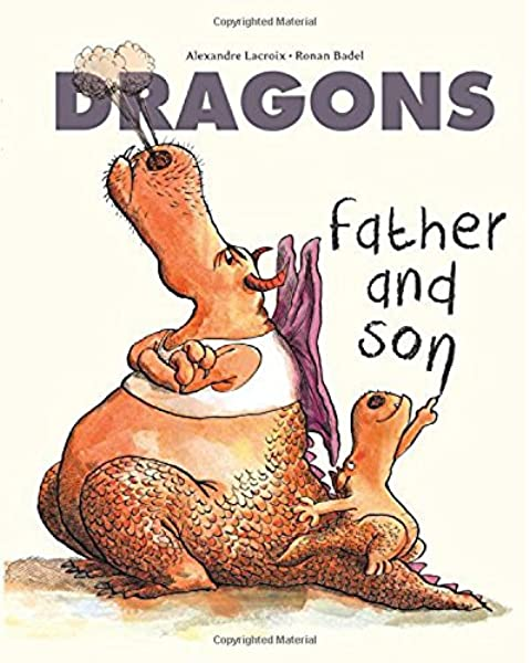 Dragons Father and Son Hardcover Book
