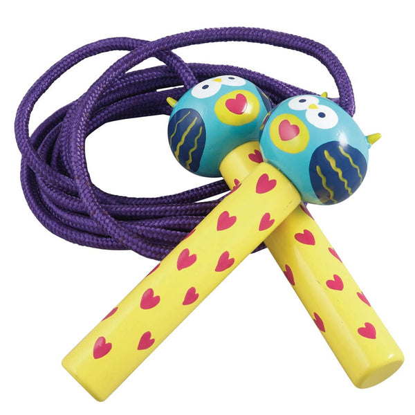 Floss and Rock - Owl Skipping Rope - 240cm length