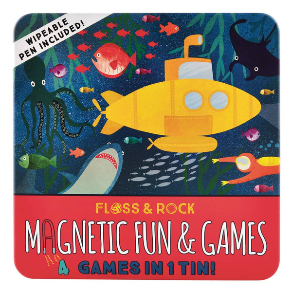 Floss & Rock - Deep Sea Magnetic Fun and Games Compendium - Two Little Birds Boutique