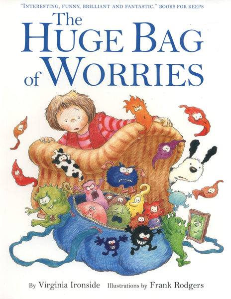 A Huge Bag Of Worries - Paperback - Two Little Birds Boutique
